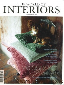 World of Interiors Dec 07 P1