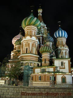 Moscow Building Colour