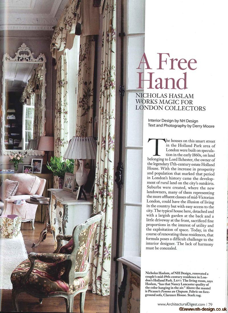 Architectural Digest Dec 2010 P79
