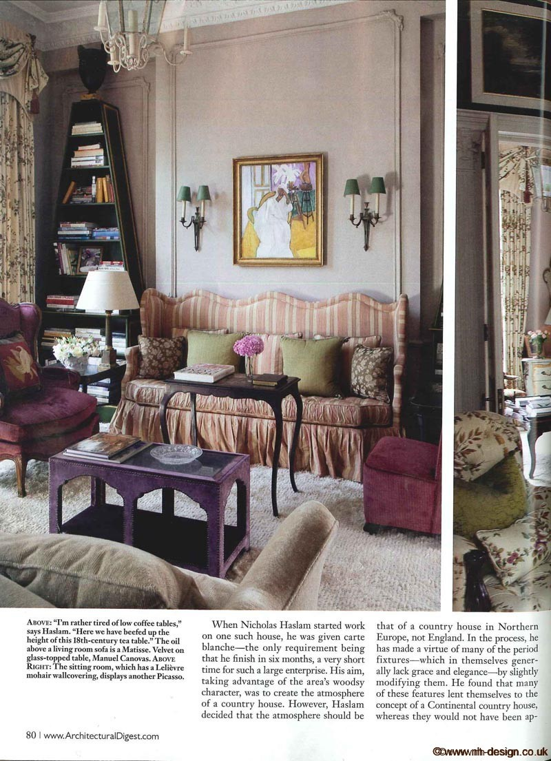 Architectural Digest Dec 2010 P80