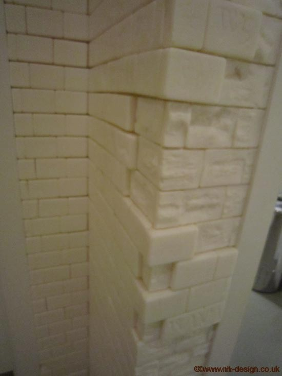 Celine Fitoussi soap wall at Gallery Mess 3