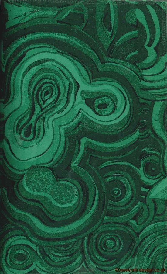 Tony Duquette Malachite Fabric