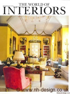 World of Interiors Dec 2010 cover