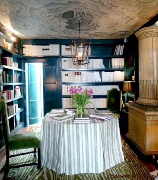 Colette's library in London