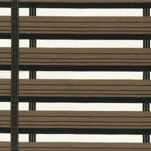 Shutter Stripe in Unearthly Brown